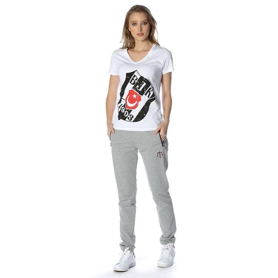 Beşiktaş klassik trainingshose damen 8818400 Grau