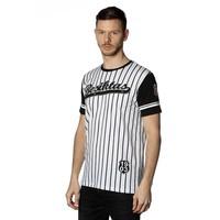 Beşiktaş gestreift college t-shirt herren 7718117 SCHWARZ-WEIβ