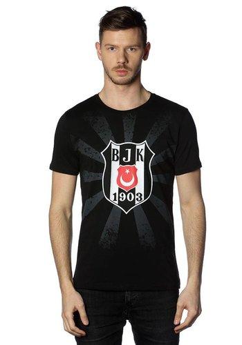 Beşiktaş Sonnenlogo T-Shirt Herren 7818107 Schwarz