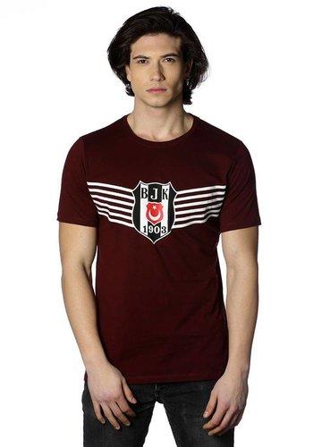 Beşiktaş Overwinning Logo T-Shirt Heren 7818114 Bordeaux