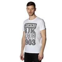 Beşiktaş Billboard T-Shirt Herren 7818131 Weiβ
