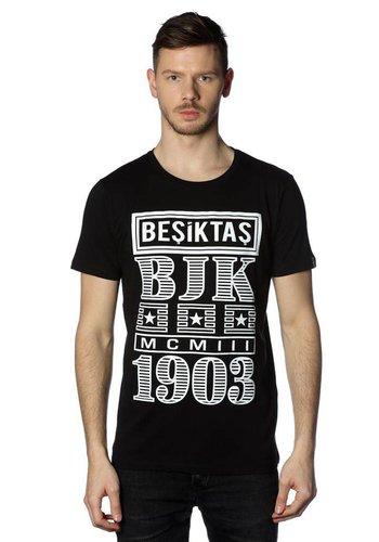 Beşiktaş Billboard T-Shirt Heren 7818131 Zwart