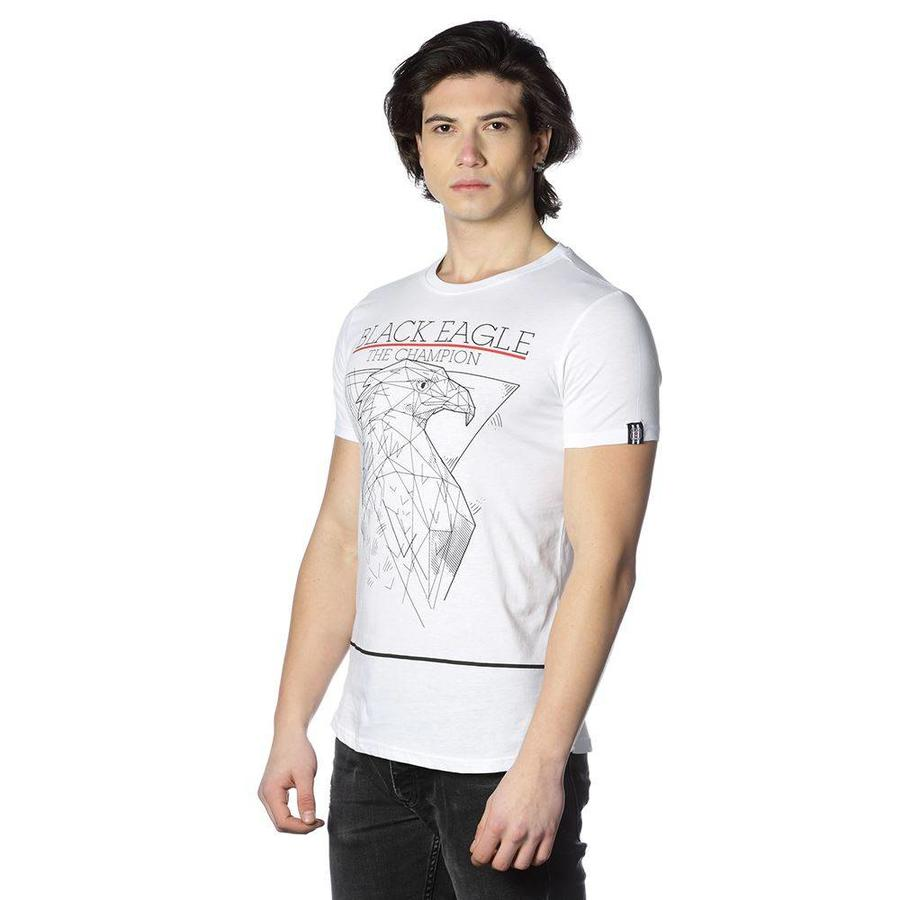 Beşiktaş Adler Zeichnung T-Shirt Herren 7818142 Weiβ