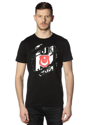 Beşiktaş Krallenlogo T-Shirt Herren 7818112 Schwarz