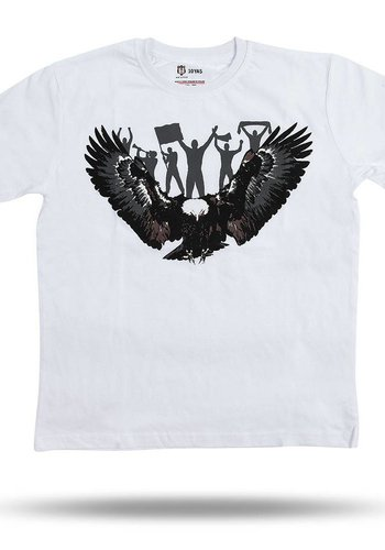 Beşiktaş Kids Eagle Fan T-Shirt 6818118 White