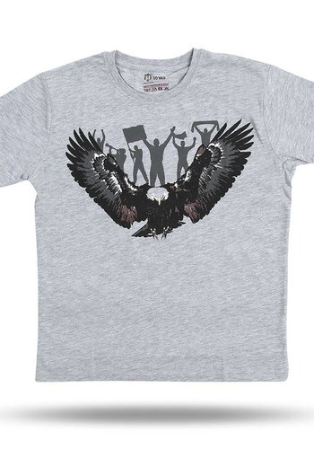 Beşiktaş Kids Eagle Fan T-Shirt 6818118 Grey