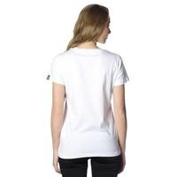 Beşiktaş College T-Shirt Speciaal Bedrukt Dames 8818103 Wit