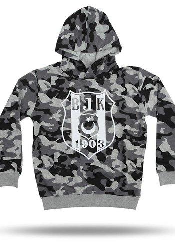 Beşiktaş camouflage hooded sweater Kinderen 6818203