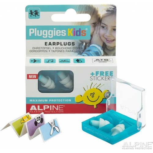 Pluggies Kids oordopjes