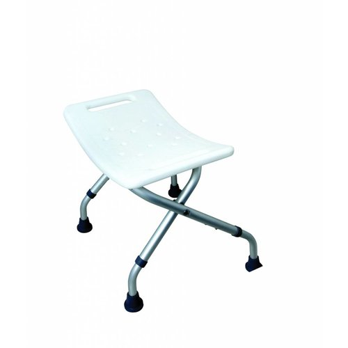 Opvouwbare badstoel douchekruk