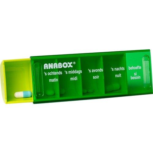Anabox dagbox pillendoosje NL/FR
