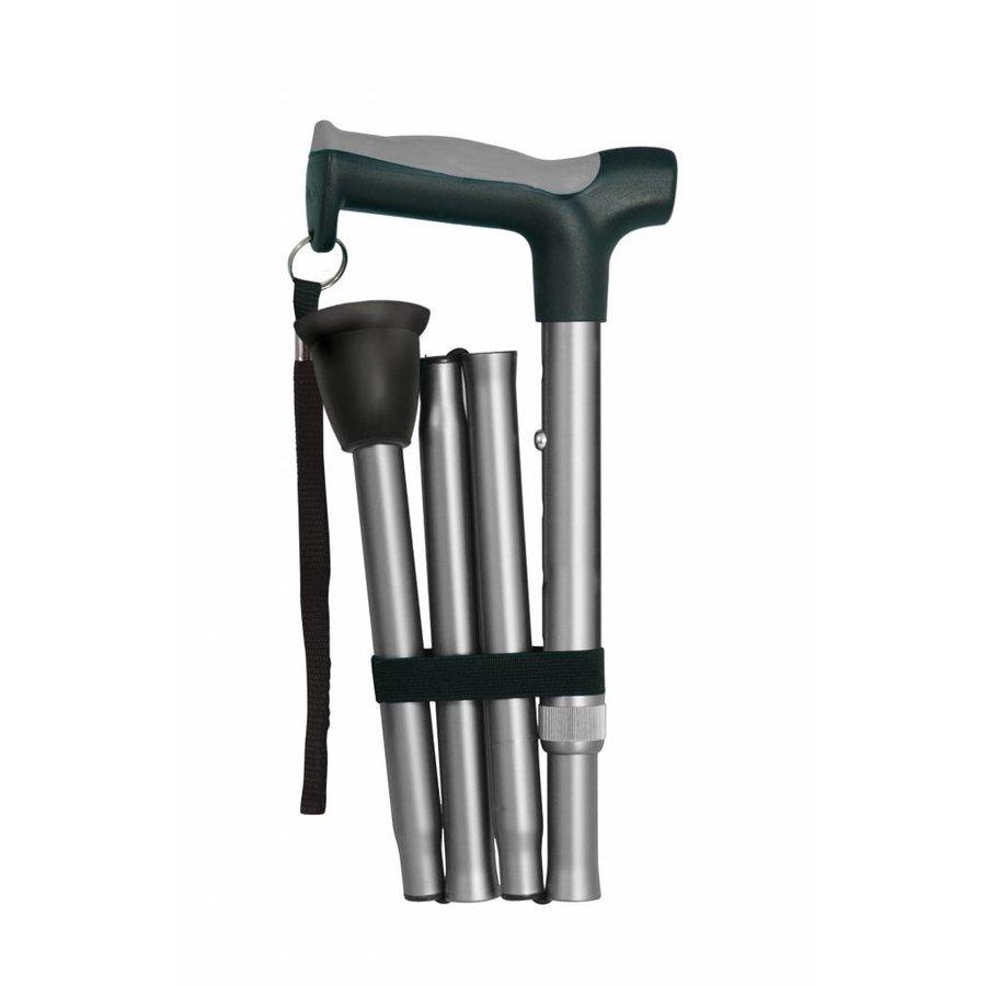 Aluminium wandelstok Hugo 81-94 cm Opvouwbaar