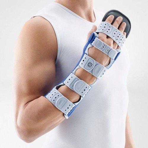 ManuLoc Long Plus brace voor immobilisatie van de hand met afneembare vingersteun
