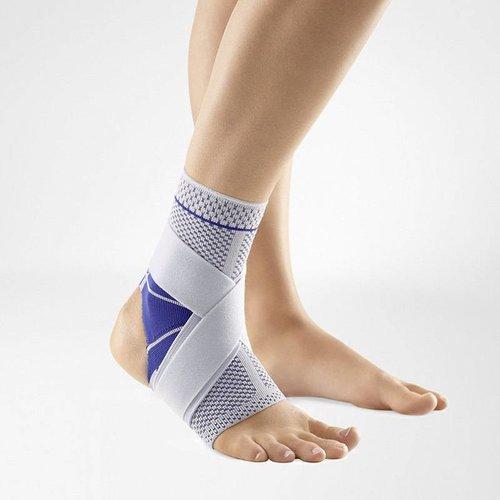 MalleoTrain S Open Heel stabiliseert het spronggewricht bij sporten op blote voeten