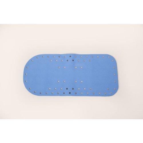 Antislip badmat met zuignapjes  - 75 - 35 cm - Lichtblauw