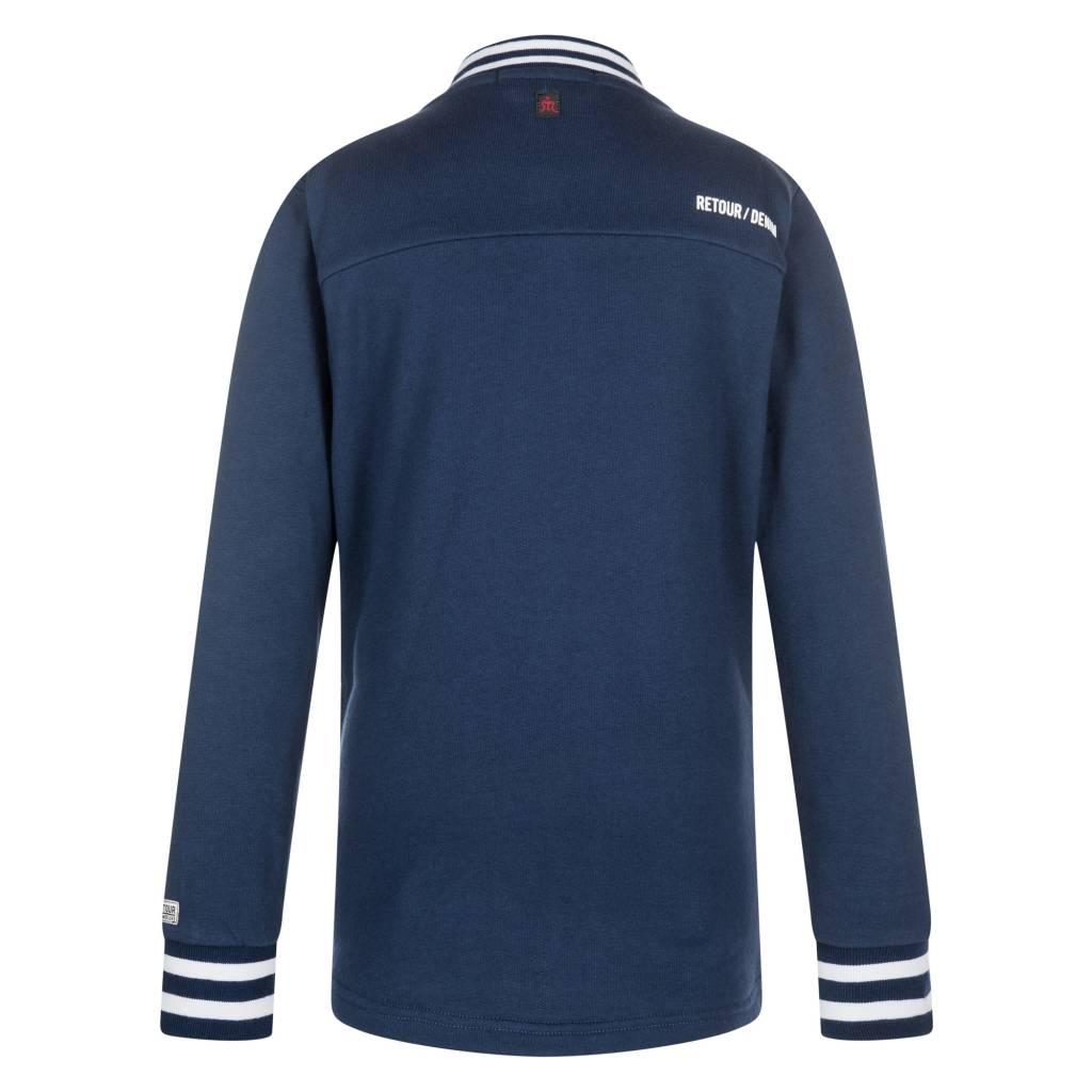 Retour Jeans Blauw Retour Elvino Vest RJB-81-705