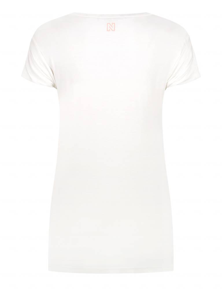 NIKKIE Wit Nikkie Milkshake T-shirt