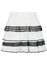 NIKKIE Wit Nikkie Rollin Layer Skirt