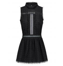 NIKKIE Zwart Nikkie Rollin Open Back Dress