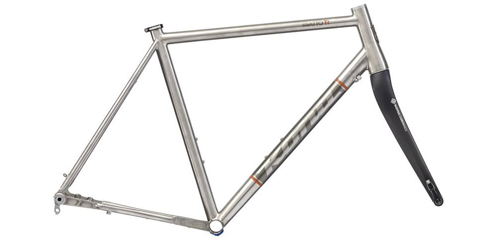Kona Esatto Ti Disc Frame w/Fork - Kona Bike Shop UK