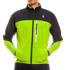 Kona Soft Shell Jacket Black/Green