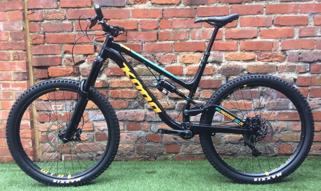 Kona Process 153 DL 2017 Demo Bike L