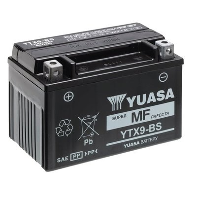 Yuasa Yuasa YTX9-BS Motorradbatterie