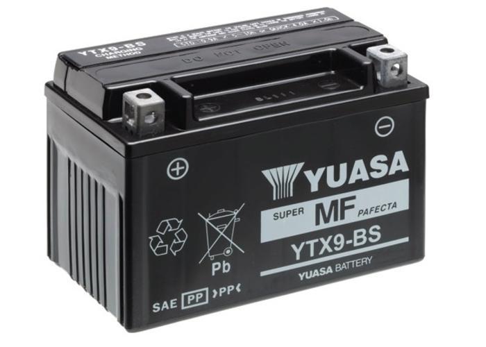 Yuasa Onderhoudsvrije Accu Yuasa YTX9-BS