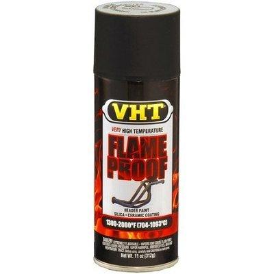 VHT Flameproof Mat Zwart
