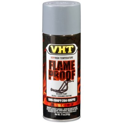 VHT VHT Flameproof Flat Silver