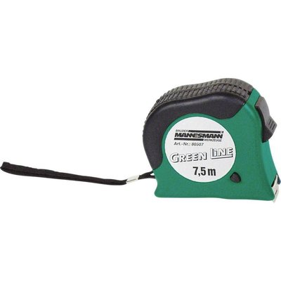 Mannesmann Mannesmann Tape measure 7.5 meters to stop