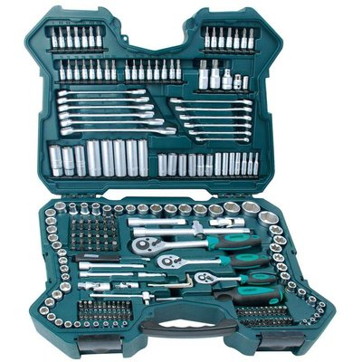 Mannesmann MANNESMANN SOCKET SET 215 PIECES 1/2+3/8+1/4