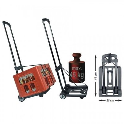 Mannesmann Trolley opvouwbaar 45 kg