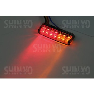 Shin Yo LED Shorty Knipper & Achterlicht Combinatie