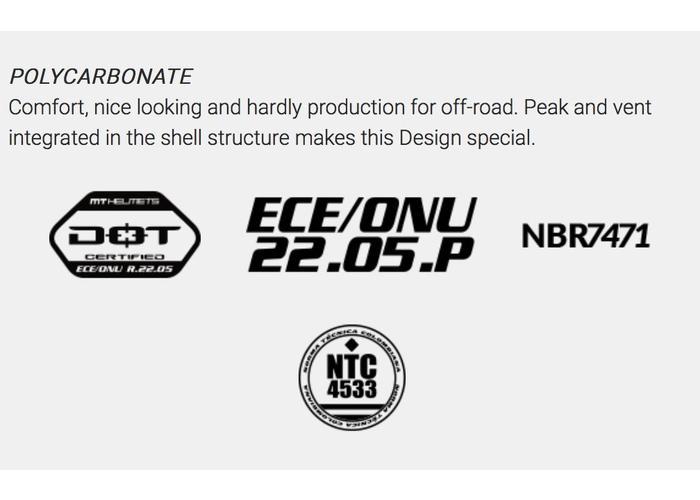 MT Helmets Synchrony Endurance Helm Rood / Black