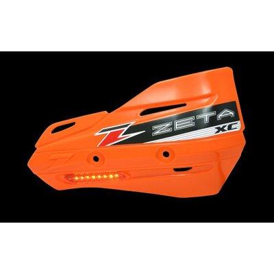 Zeta Armor-Guard XC Handschutz mit Blinker - Orange