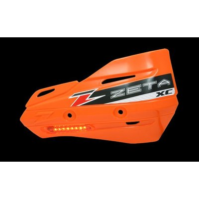 Zeta Armor-Guard XC Handshields with Indicators - Orange