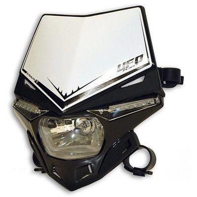 UFO Stealth Headlight Unit Hood - Black