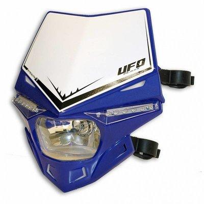 UFO Stealth Koplamp Unit Kap Blauw