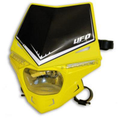 UFO Stealth Frontscheinwerfer mit LED und E-zertifiziert Gelb