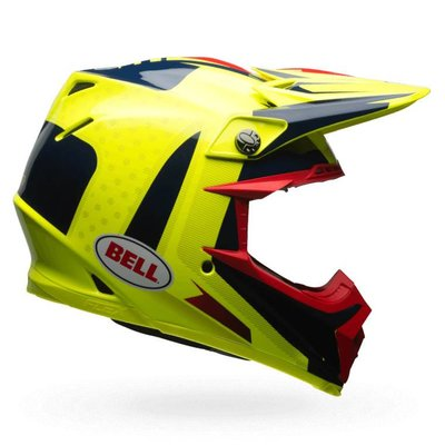 Bell Moto-9 Carbon Flex Vice Blue/Yellow