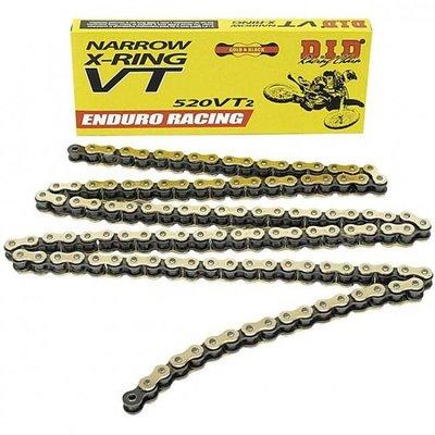 D.I.D 520 VT2 Narrow Enduro Racing X-Ring Chain