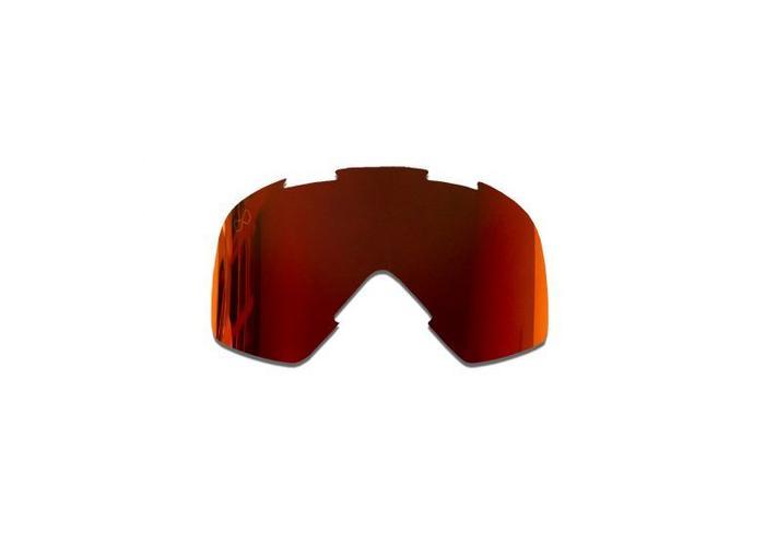 SMF Mariener Moto Goggle Vervangings Lens Red Lava