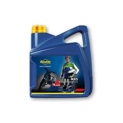 Putoline MX 5 2-Stroke Motor Oil