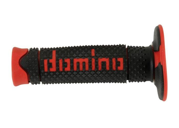 Domino Full Grip Handvatten Zwart/Rood