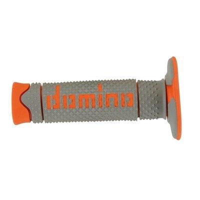Domino Full Grip Handvatten Grijs/Oranje