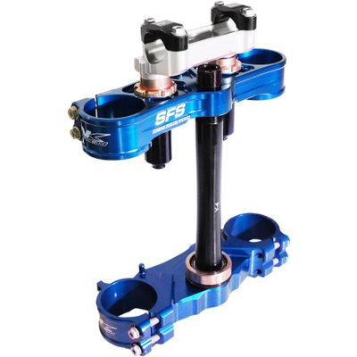 Neken Triple Clamp Blue Yamaha YZ