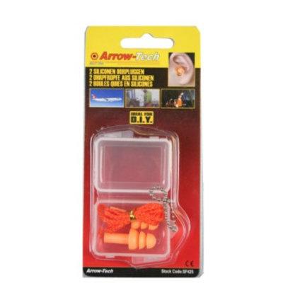 Ear Plugs 2 Piece Silicone