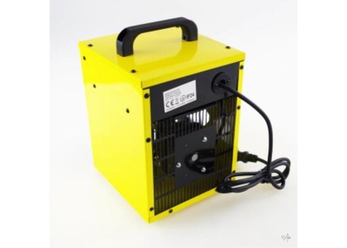 Werkplaatskachel 2000W Snoer 1.5 Mtr