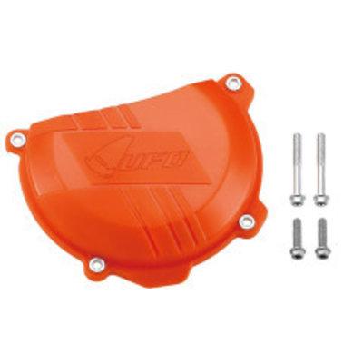 UFO Koppelingsdeksel beschermer - Hardplastic oranje EXC-F250/350 - SX-F250/350